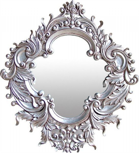 Louis Carved Ornate Mirror